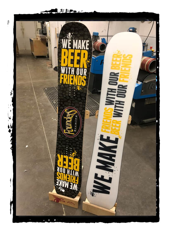 Custom Snowboards